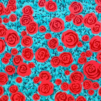 [A0651-0085] P.P Flowers_Sky