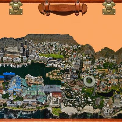 [A0659-0004] City Daydream in Cape town