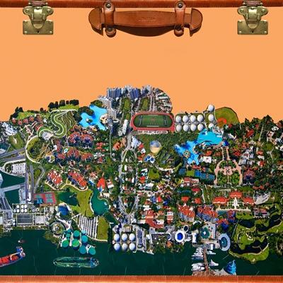[A0659-0007] City Daydream in Miami