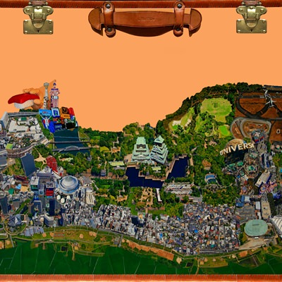 [A0659-0008] City Daydream in Osaka