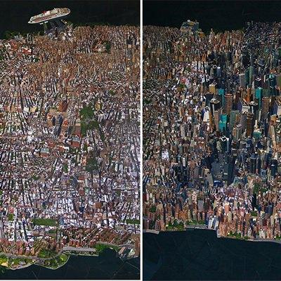 [A0659-0022] City Daydream in Newyork