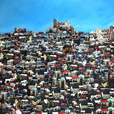 [A0659-0028] 도시의 생활 시리즈- 아이슬란드 레켜빅