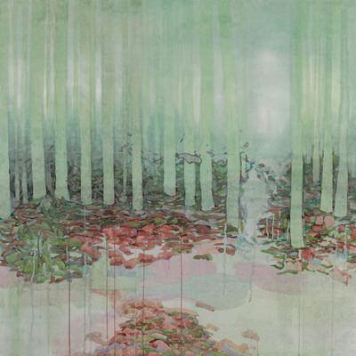 [A0660-0002] 말린 기억_촉촉한 삼나무숲