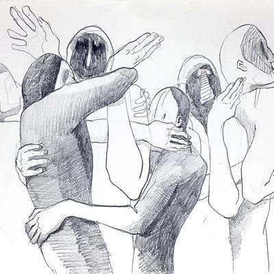 [A0673-0035] 몸짓 드로잉