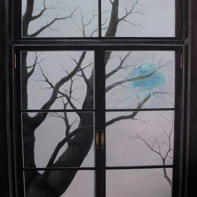 [A0676-0039] 창(a window)
