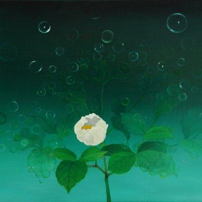 [A0676-0045] 복을 담은 꽃