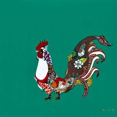 [A0677-0023] 위대한 (나)닭?