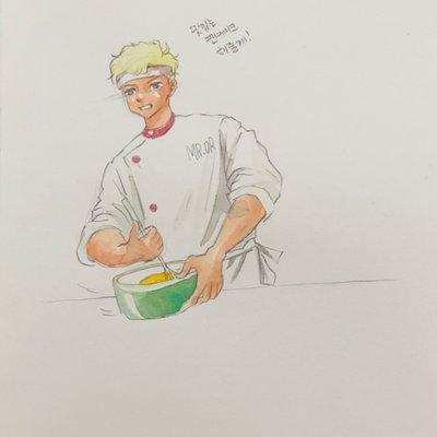 [A0689-0069] 미스터오알은 요리사