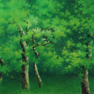 [A0692-0028] 아름다운 순간 - 숲속의 환희