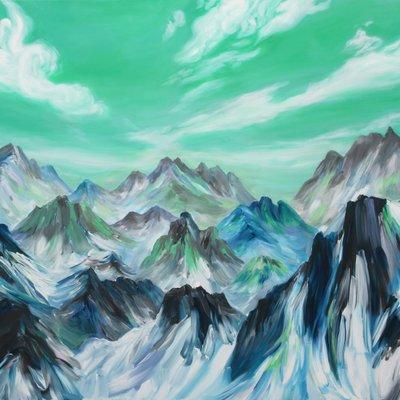 [A0694-0045] 말하는 산