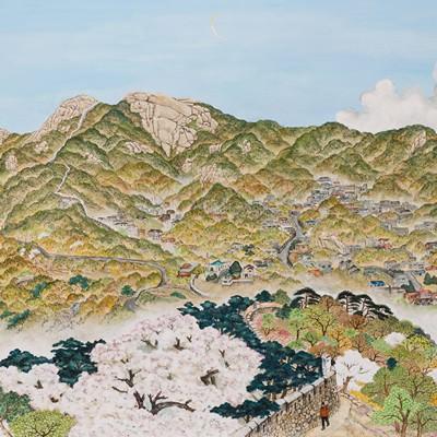 [A0710-0002] 백악산에서 바라본 인왕산