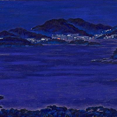 [A0710-0027] 푸른밤의 여정 -여수