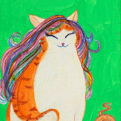 [A0712-0018] smile cat