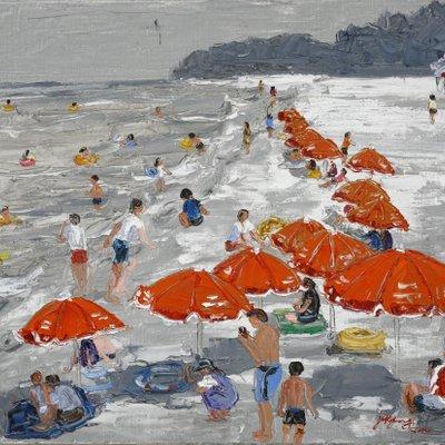 [A0712-0176] 해변의 여름
