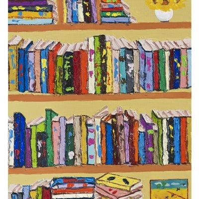 [A0712-0191] My dream book cafe
