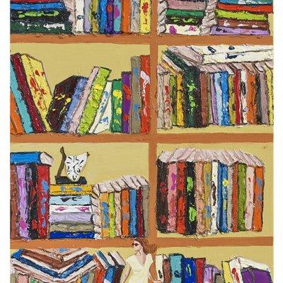 [A0712-0192] My dream book cafe