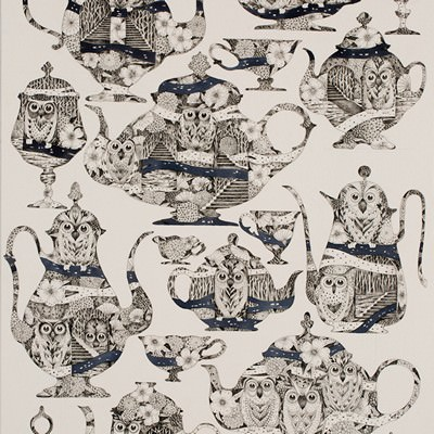 [A0715-0001] Mono owls of  teapot