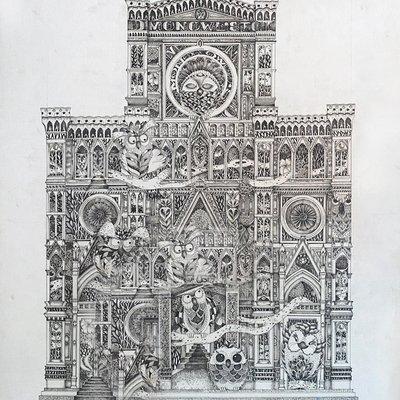 [A0715-0005] Mono owls of  Duomo