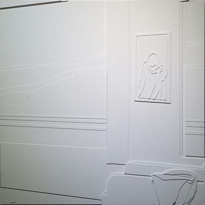 [A0736-0010] Western Motel, White 2