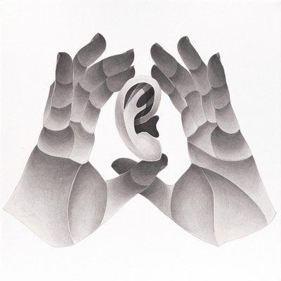 [A0750-0014] 두 손, 귀