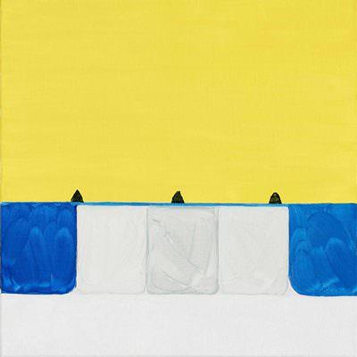[A0753-0003]  노랑과 세 봉우리