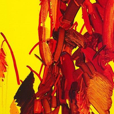 [A0753-0026] 붉은 꽃