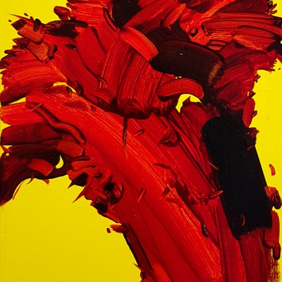 [A0753-0031] 붉은 꽃