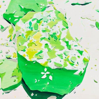 [A0753-0059] Green Stone (80g)