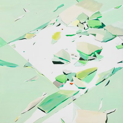 [A0753-0063] Green Piece