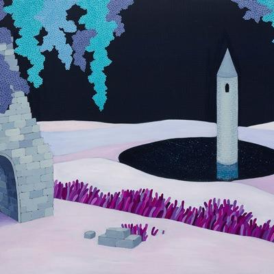 [A0759-0006] 한 개의 탑과 갇혀있는 기억