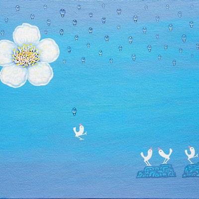 [A0763-0027] 꽃과 새