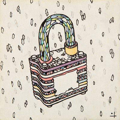 [A0765-0029] 추억상자-자물쇠