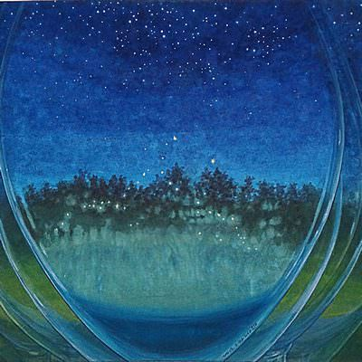 [A0766-0016] dream in the glass-별밤