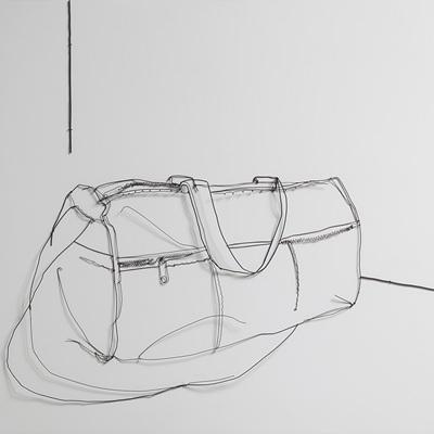 [A0767-0004] 내려둔 가방