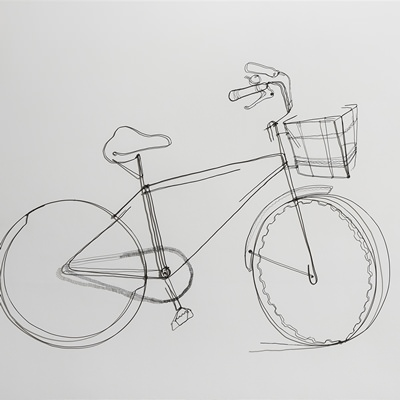 [A0767-0021] A bicycle 01