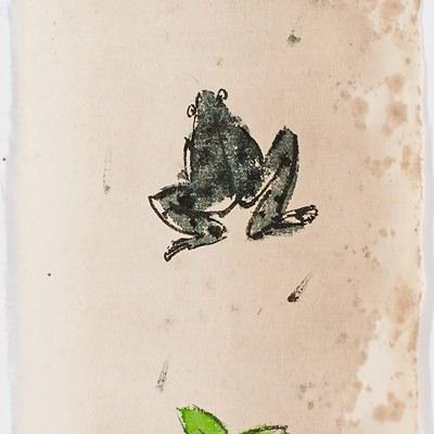 [A0770-0048] 봄날-개골개골개골 노래를 한다