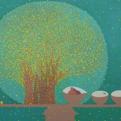 [A0771-0008] 산수유 나무