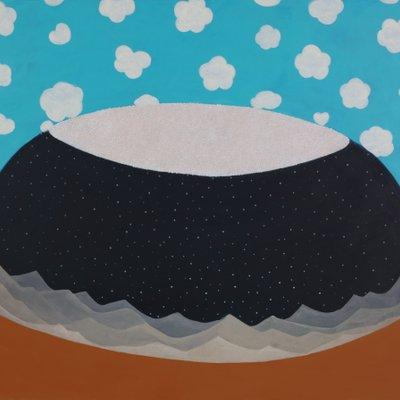 [A0771-0035] 푸른 밤, 하얀 밥