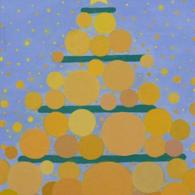 [A0771-0048] 크리스마스 트리