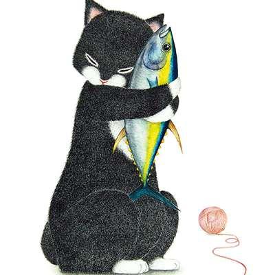 [A0773-0011] 내곁에 있어줘_검은고양이