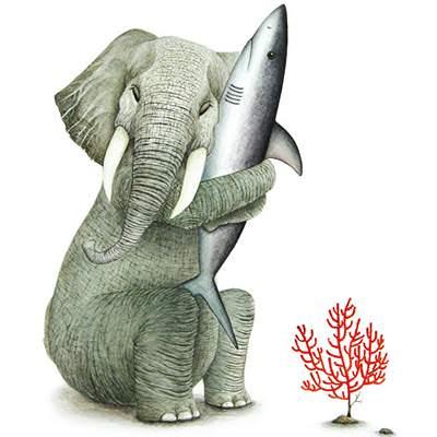 [A0773-0016] 내곁에 있어줘_코끼리