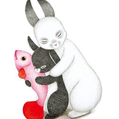 [A0773-0026] 내곁에 있어줘_토끼들