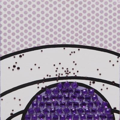 [A0812-0005] 비현실적인 나무POP-violet