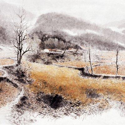 [A0834-0065] 산수지향(Landscape painting)