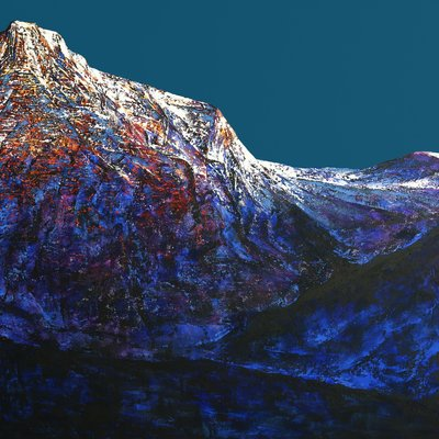[A0846-0003] Mountain of Silence Ⅱ