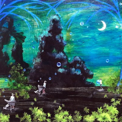 [A0850-0007] Garden of the spirit- dreamer 03-2 생각의 정원