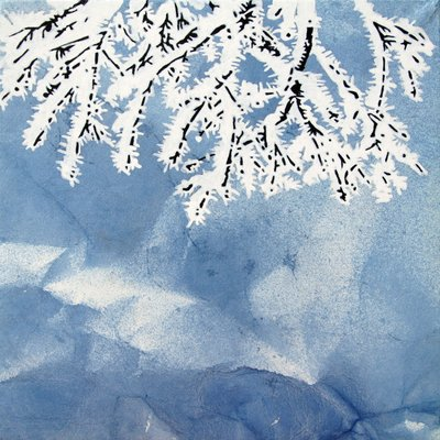 [A0864-0011] 설지(雪枝)5