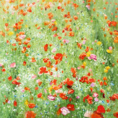 [A0865-0024] Natural  Image (Poppy garden)