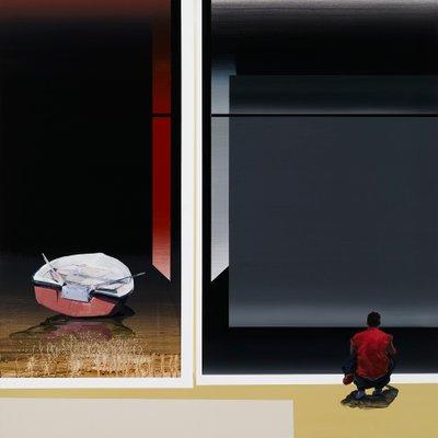 [A0897-0024] 가로놓인 밤