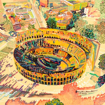 [A0898-0002] 로마에서의 기적 + 콜로세움